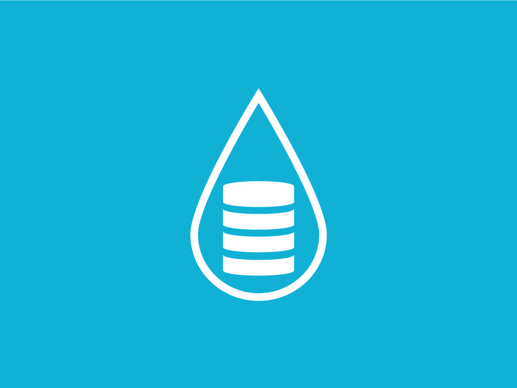 hydrological data management icon