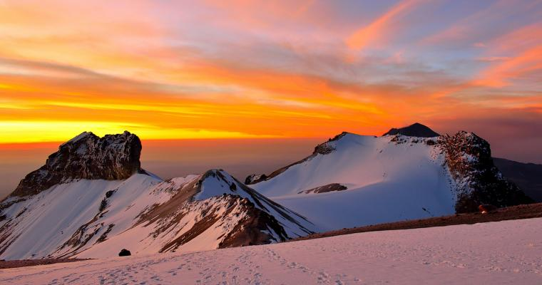 Sunrise at 5000 meters by Miguel Angel Trejo Rangel