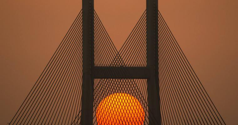 Sunshine Bridge by Eddy Chan
