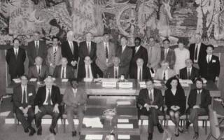 Inaugural Meeting of the GCOS Scientific & Technical Steering Committee April 13 – 15, 1992, at WMO