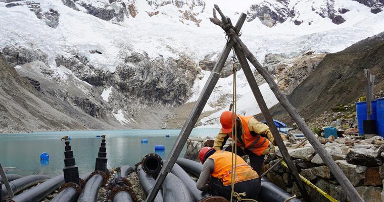 Palcacocha Glacier Lake, Peru