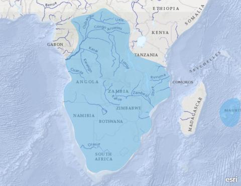 SADC-HYCOS (Southern Africa)
