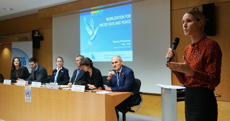 Water Data and Peace Event
